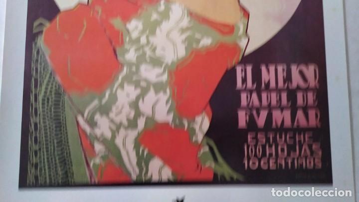 Coleccionismo de carteles: Reproducción de Cartel EL AS Papel de fumar del artista Arturo Ballester exposición La Caixa 1986 - Foto 7 - 213020012