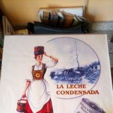 Coleccionismo de carteles: PÓSTER REPRO DE LECHE CONDENSADA LA LECHERA.. Lote 213455542