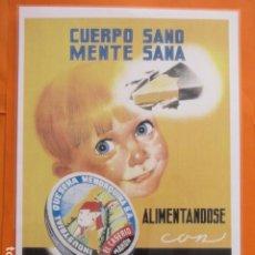 Collectionnisme d'affiches: CARTEL - REPRODUCCION ANTIGUA PUBLICIDAD EL CASERIO - 29 X 41.5 (INCLUIDO MARGENES). Lote 214171382