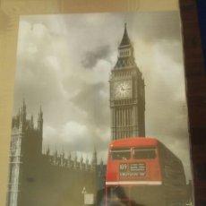 Coleccionismo de carteles: POSTER LONDON BUS BIG BEN 61 X 91 CM. Lote 214711737