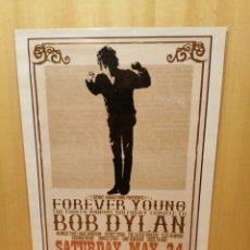 Collectionnisme d'affiches: BOB DYLAN. CARTEL REPRODUCCIÓN. 44,5 X 31,5 CM.. Lote 215060315