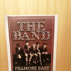 Collectionnisme d'affiches: THE BAND. FILLMORE EAST. CARTEL REPRODUCCIÓN. 44,5 X 31,5 CM.. Lote 215060671