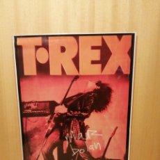 Collectionnisme d'affiches: T. REX. MARC BOLAN. CARTEL REPRODUCCIÓN. 44,5 X 31,5 CM.. Lote 215060948