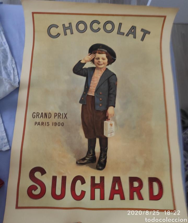 CARTEL PUBLICITARIO CHOCOLATES SUCHARD (Coleccionismo - Reproducciones de carteles)