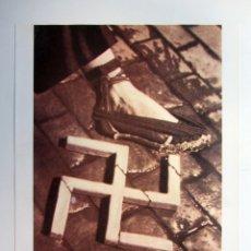 Colecionismo de cartazes: AIXAFEM EL FEIXISME. CARTEL PROPAGANDA GUERRA CIVIL. REPRODUCCIÓN. IDEAL PARA ENMARCAR.. Lote 216635176