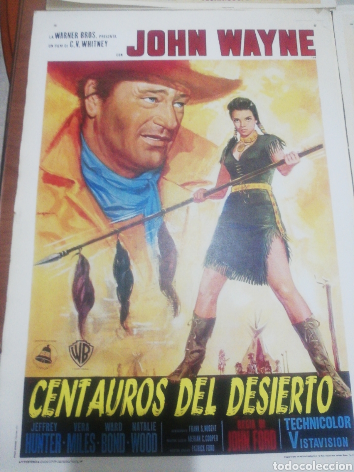 Coleccionismo de carteles: Reproducción Carteles Western. - Foto 2 - 218138296