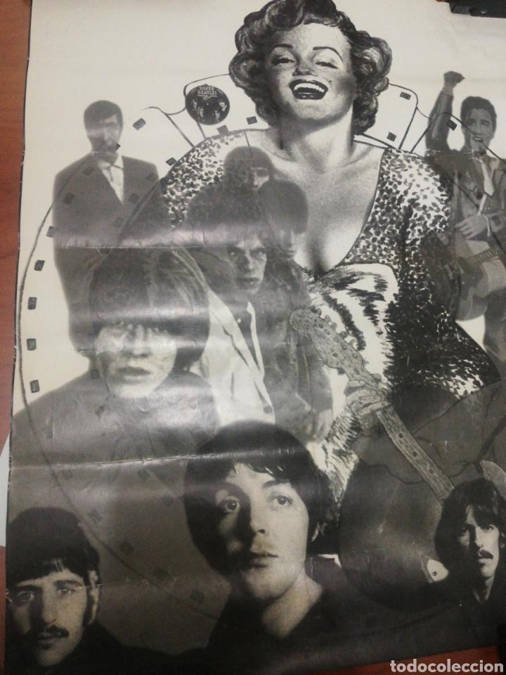Coleccionismo de carteles: Cartel Beatles, Elvis, Marilyn.... - Foto 2 - 218144705