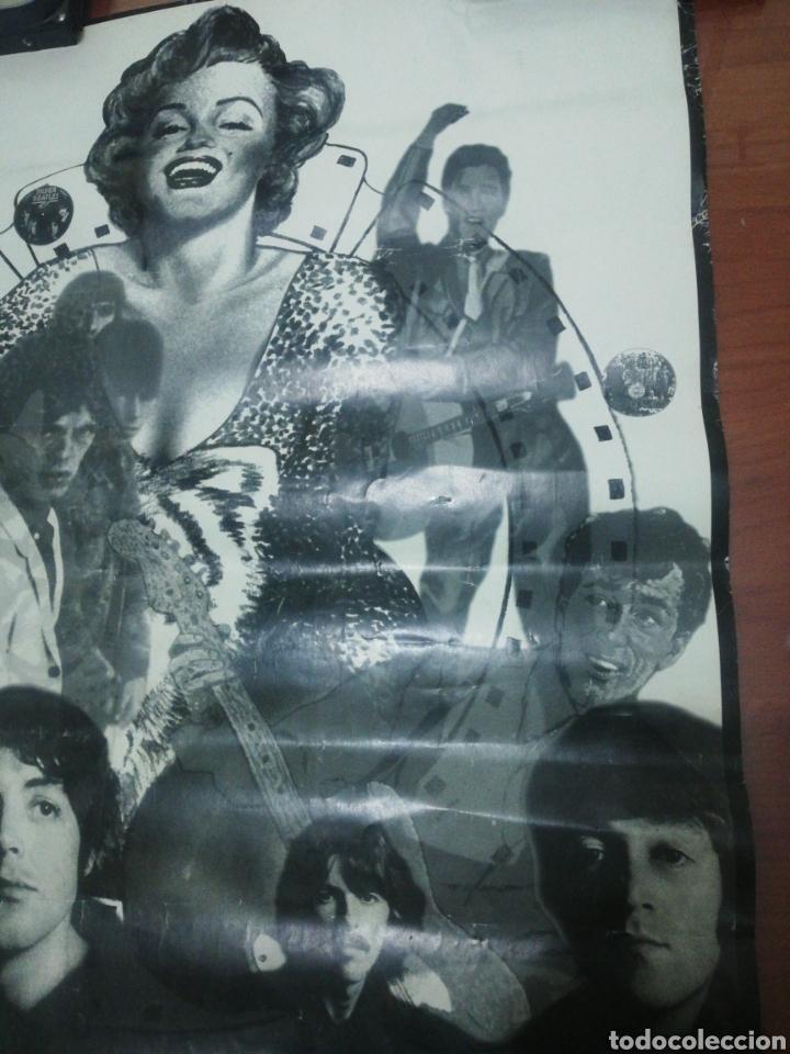 Coleccionismo de carteles: Cartel Beatles, Elvis, Marilyn.... - Foto 3 - 218144705