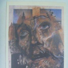 Coleccionismo de carteles: SEMANA SANTA DE SEVILLA : PEQUEÑO CARTEL ( REPRODUCCION DE COLECCION ) DE 1984, DE ROLANDO CAMPOS. Lote 219525137