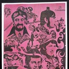 Collectionnisme d'affiches: TINO CASAL POSTER ARCHIDUQUES DIBUJADO POR CASAL TAMAÑO 45 X 28. Lote 224808287