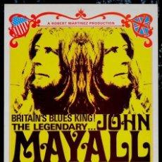 Colecionismo de cartazes: JOHN MAYALL - TAMPA CONCERT, US 8 MAY. 1971 !! CARTEL CONCIERTO 30X40 !!. Lote 227731117