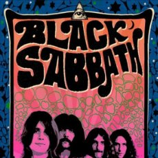 Colecionismo de cartazes: BLACK SABBATH - THE PARADISO CONCERT,AMSTERDAM 1970 !! CARTEL CONCIERTO 30X40 !!. Lote 227733790