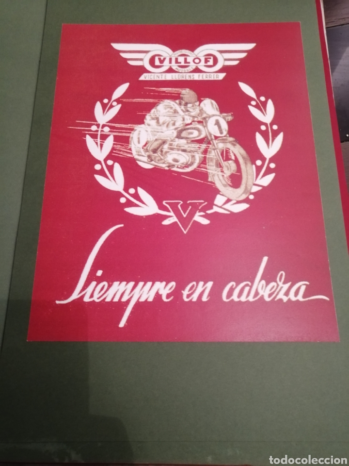 Coleccionismo de carteles: Lote de 7 Carteles Posters de Publicidad de Motocicletas, OSSA, LAMBRETTA, MONTESA, VESPA, ETC... - Foto 2 - 230266470
