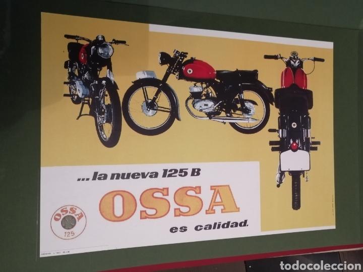Coleccionismo de carteles: Lote de 7 Carteles Posters de Publicidad de Motocicletas, OSSA, LAMBRETTA, MONTESA, VESPA, ETC... - Foto 3 - 230266470