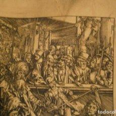 Coleccionismo de carteles: REPRODUCCION RICHARD GANS S.A.,MADRID,SAN JUAN,ARTES GRAFICAS,ALBERTO DURERO,APOCALIPSIS,AÑOS,50,60,. Lote 231082630