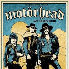 Collezionismo di affissi: MOTORHEAD - ACE OF SPADES TOUR HAMMERSMITH ODEON 1980 !! CARTEL CONCIERTO 30X40 !!. Lote 231797325