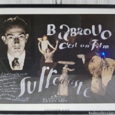 Coleccionismo de carteles: PORTER DE SALVADOR DALI DE SU PELÍCULA SUBREALISTA BABAOUO. Lote 234348605