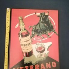 Coleccionismo de carteles: CARTEL PUBLICIDAD IMPRESO EN PANEL 30X20. Lote 236049790