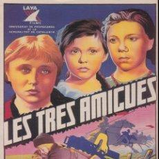 Coleccionismo de carteles: REPRODUCCIÓ CARTELL GUERRA CIVIL: LES TRES AMIGUES - ANÒNIM. Lote 236194875
