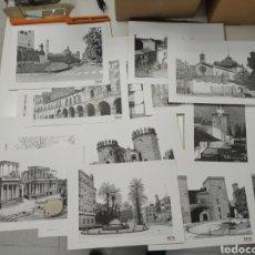 Coleccionismo de carteles: LÁMINAS DE BADAJOZ. COLECCIÓN. Lote 236344030