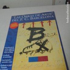 Collectionnisme d'affiches: REPRODUCCION OBRA ANTONIO TAPIES CENTENARIO CLUB FUTBOL BARCELONA. Lote 237822600