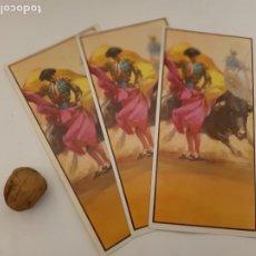 Coleccionismo de carteles: LOTE TAUROMAQUIA 8 PROGRAMAS CORRIDAS DE TOROS EN POSTALES. Lote 238382915