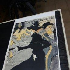 Coleccionismo de carteles: LÁMINA CARTEL DIVAN JAPONAIS. POR HENRI DE TOULOUSE-LAUTREC. Lote 243486390