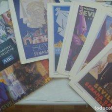 Coleccionismo de carteles: SEMANA SANTA DE SEVILLA : COLECCION DE CARTELES DE SEMANA SANTA , COMPLETA ( 20 ) EN CARPETA. Lote 243894320