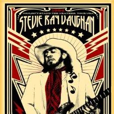 Coleccionismo de carteles: STEVIE RAY VAUGHAN - OPERA HOUSE, AUSTIN TEXAS TOUR !! CARTEL CONCIERTO 30X40 !!. Lote 245245405