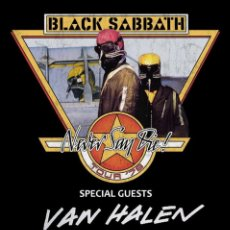 Coleccionismo de carteles: BLACK SABBATH - NEVER SAY DIE TOUR 1978 ASSEMBLY CENTER TU !! CARTEL CONCIERTO 30X40 !!. Lote 245246115
