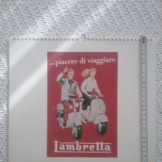 Coleccionismo de carteles: CALENDARIO MURAL VINTAGE POSTERS. Lote 245258405