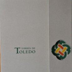 Coleccionismo de carteles: CARPETA LÁMINAS TORRES DE TOLEDO DE ENRIQUE VERA. Lote 245394565