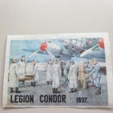 Colecionismo de cartazes: LAMINA LEGION CONDOR. Lote 246500310