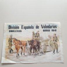 Colecionismo de cartazes: LAMINA DIVISIÓN AZUL. Lote 246501460