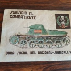 Colecionismo de cartazes: LAMINA FALANGISTA. Lote 252807885