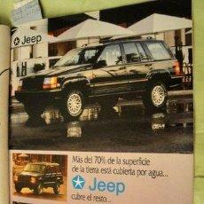 Coleccionismo de carteles: PUBLICIDAD CHRYSLER JEEP ANO 1994. Lote 255139105