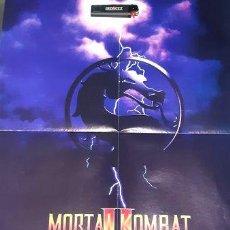 Coleccionismo de carteles: POSTER MORTAL KOMBAT 2 REVISTA VIDEOJUEGOSPC ANOS 90. Lote 255151425