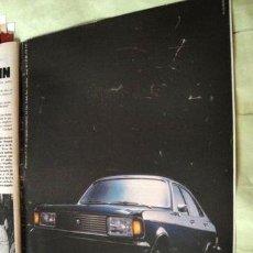 Coleccionismo de carteles: PUBLICIDAD DODGE 1500 CHRYSLER ANO 1978. Lote 255157250