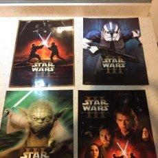 Coleccionismo de carteles: STAR WARS POSTERS DIN A4. Lote 263217140