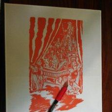 Coleccionismo de carteles: FIESTAS DE LA PEREGRINA. (27,2CM X 39CM). Lote 263710605