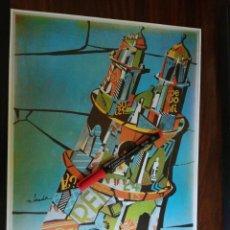 Coleccionismo de carteles: FIESTAS DE LA PEREGRINA. PONTEVEDRA. AGOSTO 1969 (27CM X 39CM). Lote 263711150