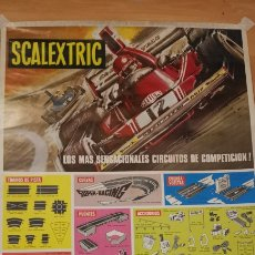 Collectionnisme d'affiches: POSTER SCALEXTRIC 1978. Lote 266559333