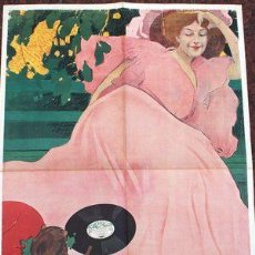 Coleccionismo de carteles: POSTER VINTAGE FONOTIPIA DISCHI ARTISTICI. Lote 268089949