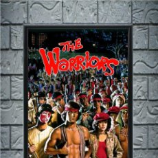Collectionnisme d'affiches: CUADRO THE WARRIORS POSTER CARTEL VIDEOJUEGO ENMARCADO 30X20 CM. Lote 273096068