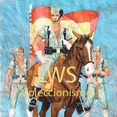Colecionismo de cartazes: 1ª BANDERA DE LA LEGION - CARTELES GUERRA CIVIL MILITAR POLITICOS. Lote 275601003