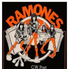 Coleccionismo de carteles: RAMONES - NEW YORK CONCERT - CARTEL CONCIERTO 30X40. Lote 277025093