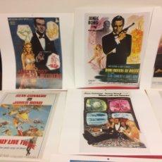 Coleccionismo de carteles: CARTELES DE JAMES BOND. Lote 287643203