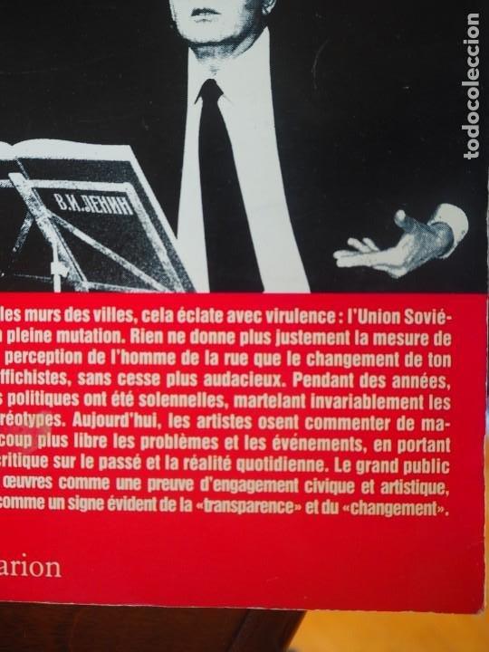 Coleccionismo de carteles: A. Yegorov. V. Litvinov. Les Affiches de la Glasnost et de la Perestroika. Impreso en URSS 1989. - Foto 3 - 289403538