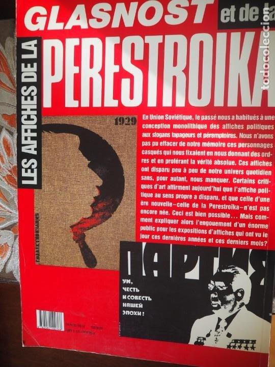 Coleccionismo de carteles: A. Yegorov. V. Litvinov. Les Affiches de la Glasnost et de la Perestroika. Impreso en URSS 1989. - Foto 4 - 289403538