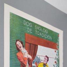 Coleccionismo de carteles: ANUNCIO DE ANIS MARIE BRIZARD DE 1957. Lote 289868183